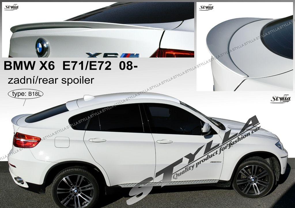Spoiler na tylną klape dolny, BMW X6 E71 E72, 2008-2014