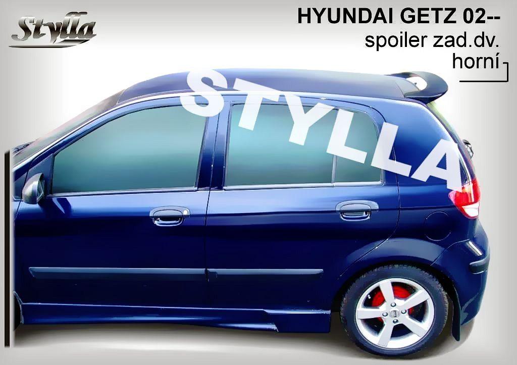 Spoiler na tylną klape górny, Hyundai Getz, 2002-2009