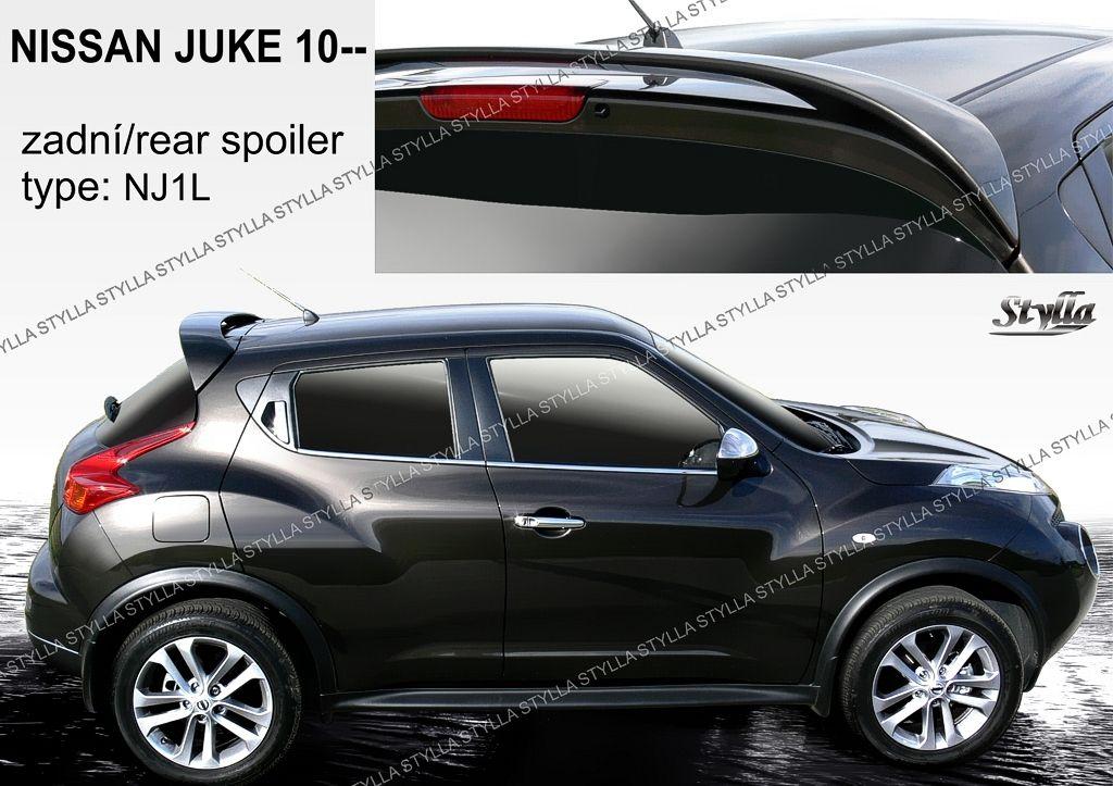 Spoiler na tylną klape górny, Nissan Juke, 2010-