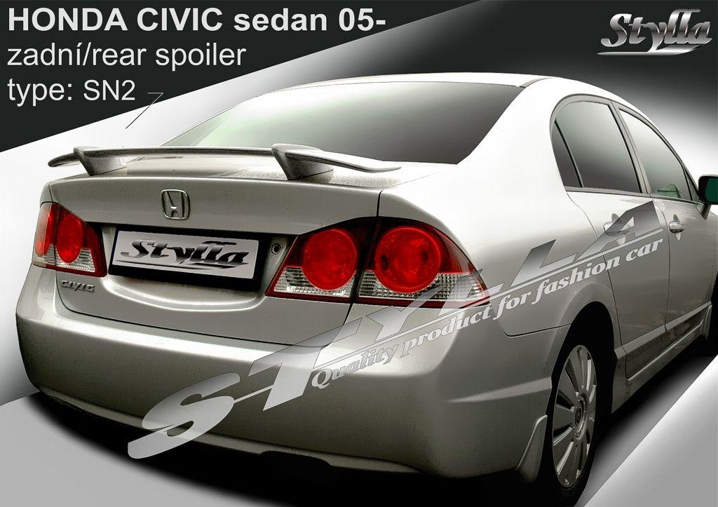 Spoiler na tylną klape, Honda Civic VIII, 2006-2012
