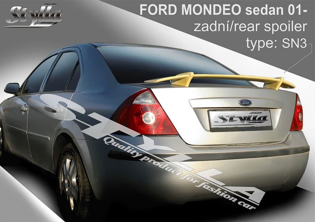 Spoiler na tylną klape, Ford Mondeo III, 2000-2007