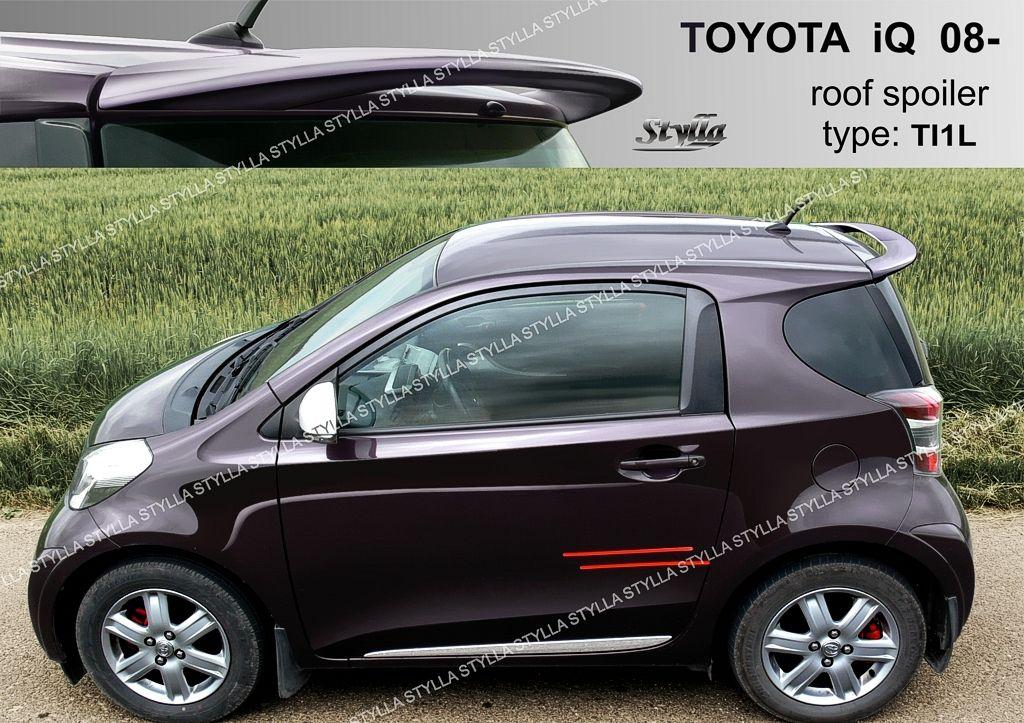 Spoiler na tylną klape górny, Toyota IQ, 2008-2016